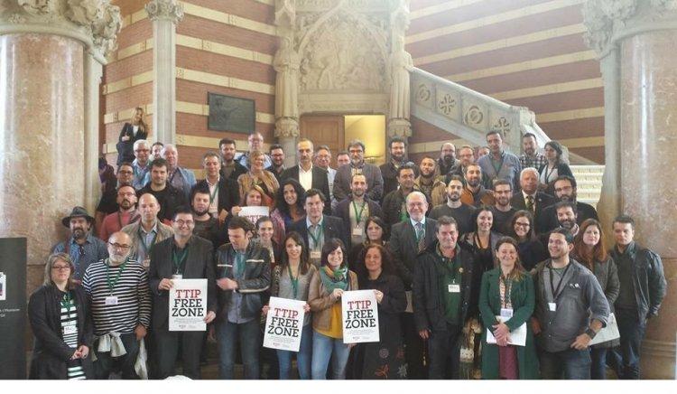 Община Горна Малина представи Източна Европа на форум срещу ТТИП